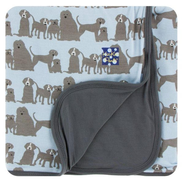 Kickee Pants London Dogs Toddler Blanket