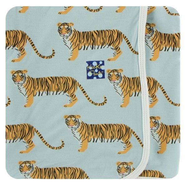 Kickee Pants Spring Tiger Swaddle