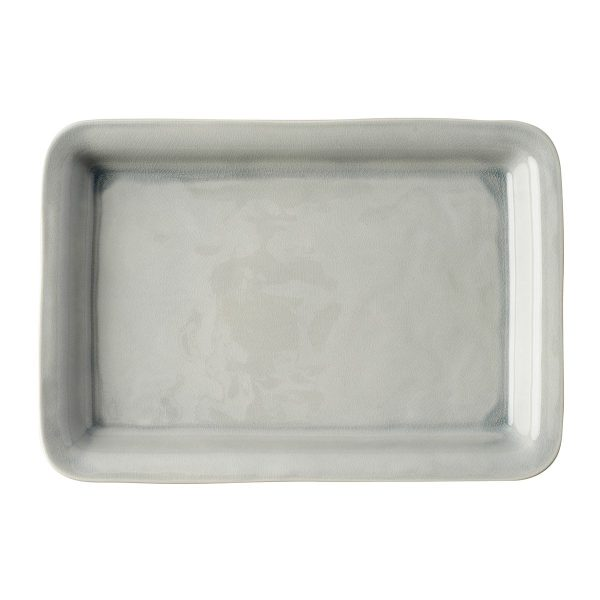 Juliska Puro Mist Grey Crackle 16″ Tray/Platter