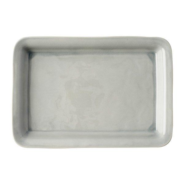 Juliska Puro Mist Grey Crackle 16″ Tray/Platter