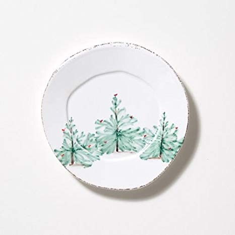 LASTRA HOLIDAY SALAD PLATE