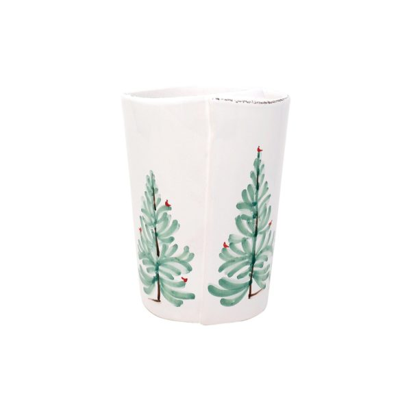 Vietri Lastra Holiday Utensil Holder