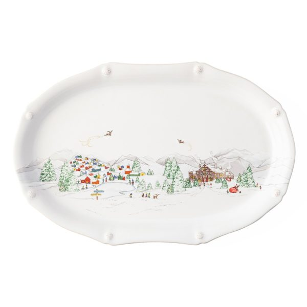 Juliska B&T North Pole Platter