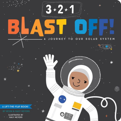 3-2-1 Blast Off Flap Book
