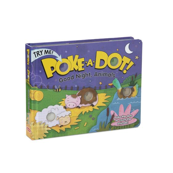 Goodnight Animals Poke-A-Dot Book