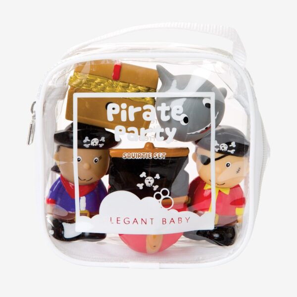 Elegant Baby Pirate Party Bath Squirties