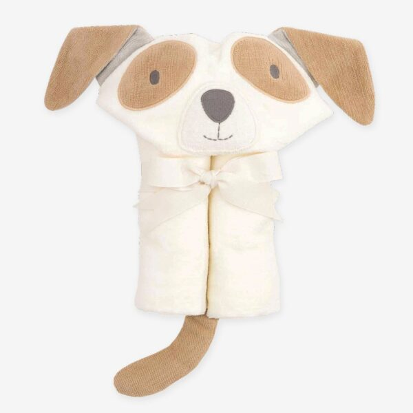 Elegant Baby Tan Puppy Bath Wrap