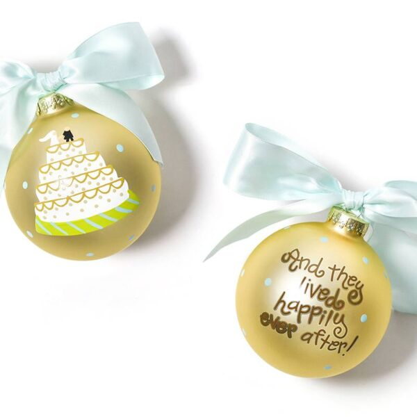 Coton Colors Wedding Cake Ornament