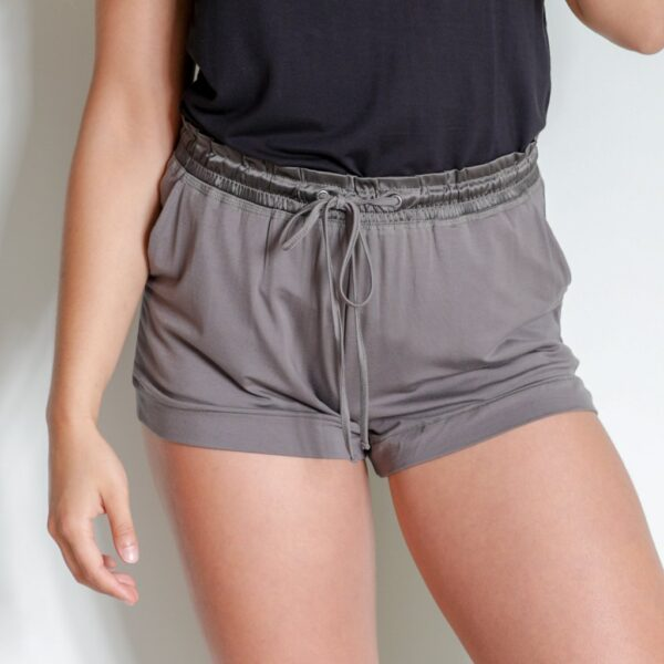 Faceplant Earl Grey Shortie Pajama Shorts