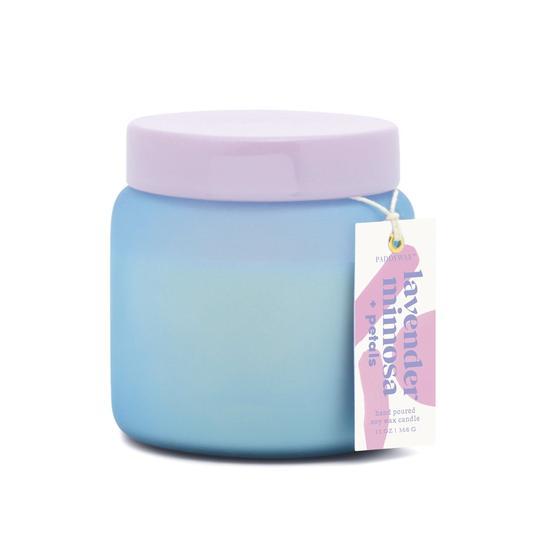 Lavender Mimosa + Petals Candle 13 Oz