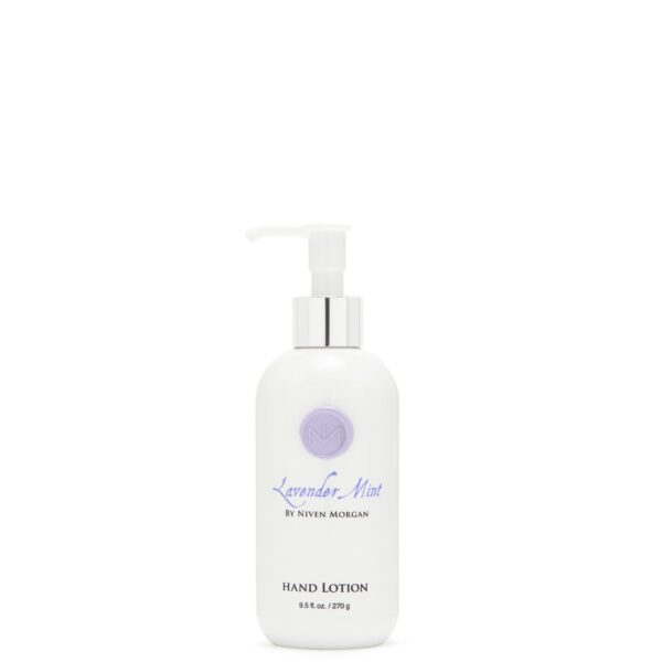 Niven Morgan Lavender Mint Hand Lotion