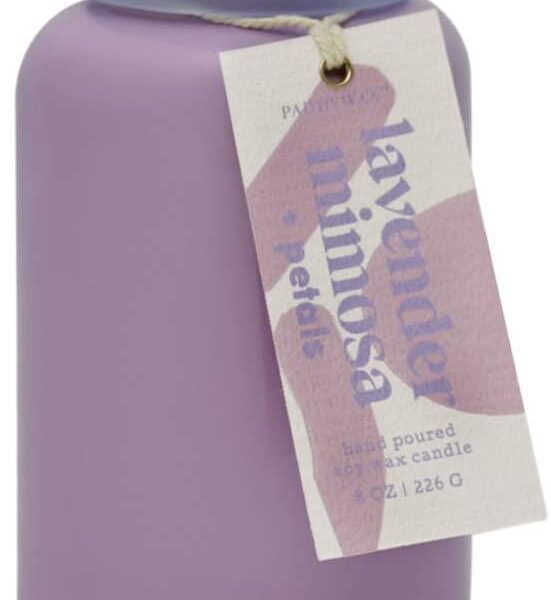 Lavender Mimosa + Petals Candle 8 Oz