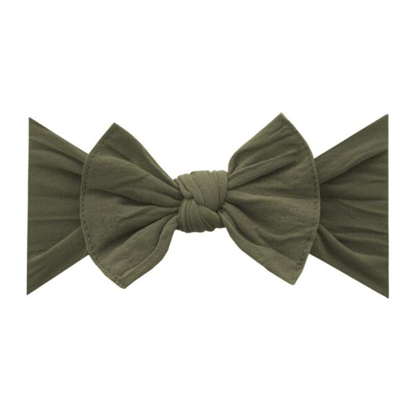 Baby Bling Knot Headband- Army Green