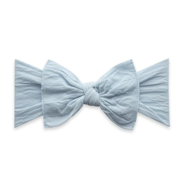 Baby Bling Knot Headband- Chambray
