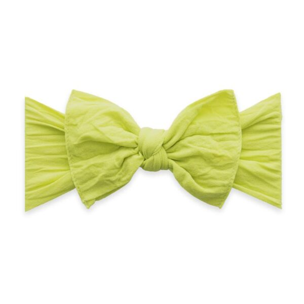 Baby Bling Knot Headband- Citron
