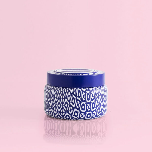 Blue Jean Printed Travel Tin, 8.5 Oz
