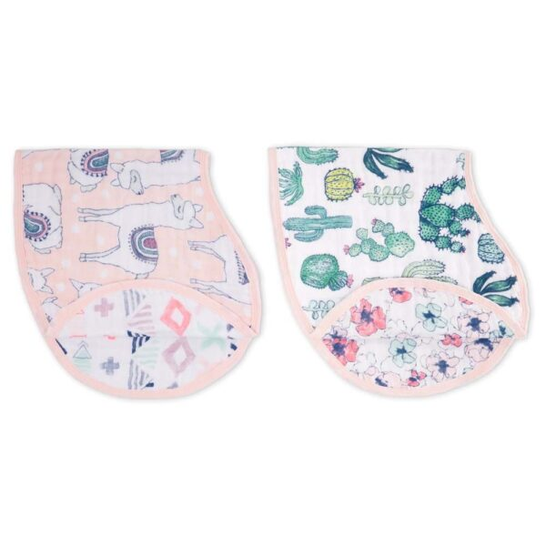 Aden + Anais Trail Blooms Burpy Bib Set