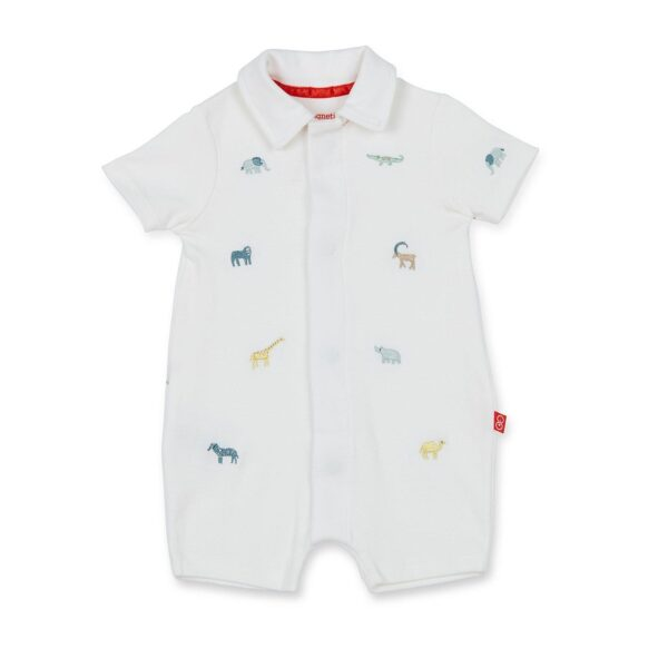 Magnetic Me Serengeti Polo Romper
