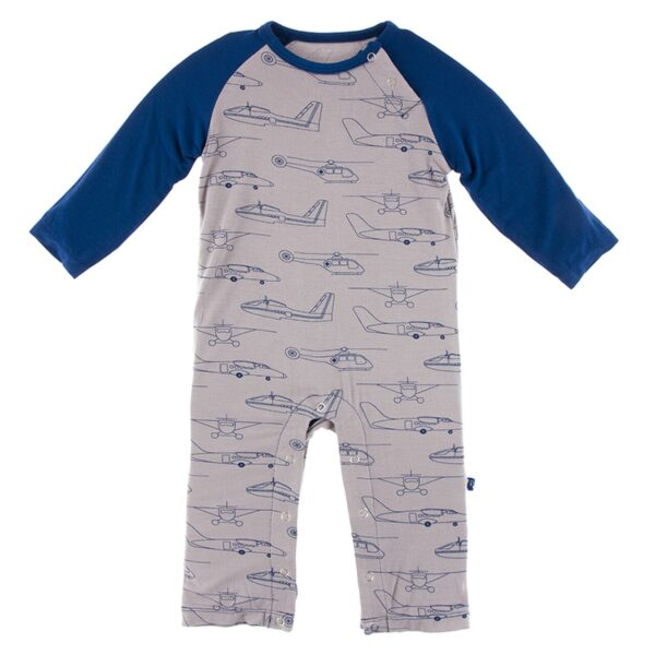 Kickee Pants- Feather Heroes In Air Romper