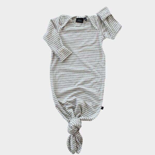 Grey Stripe Knotted Sleeper
