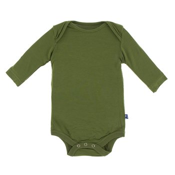 Kickee Pants Moss Long Sleeve Onesie