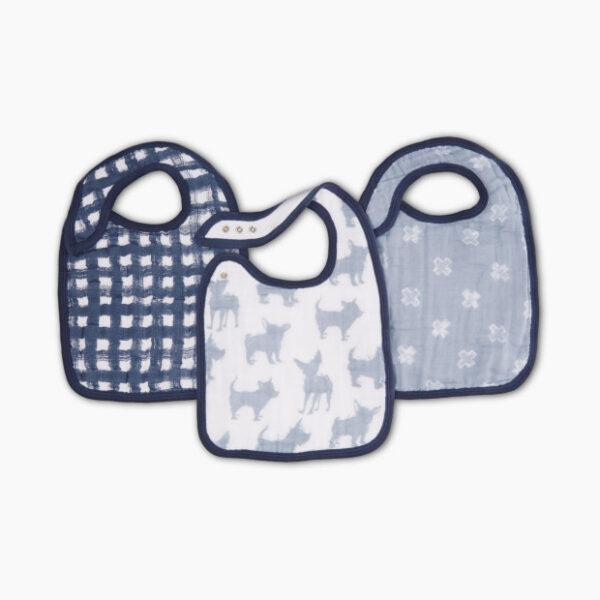 Aden + Anais Waverly 3-pack Snap Bibs