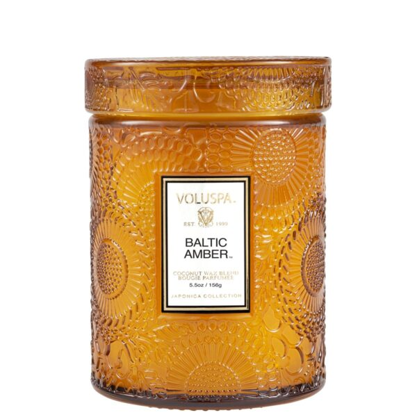 Voluspa Baltic Amber Mini Jar Candle