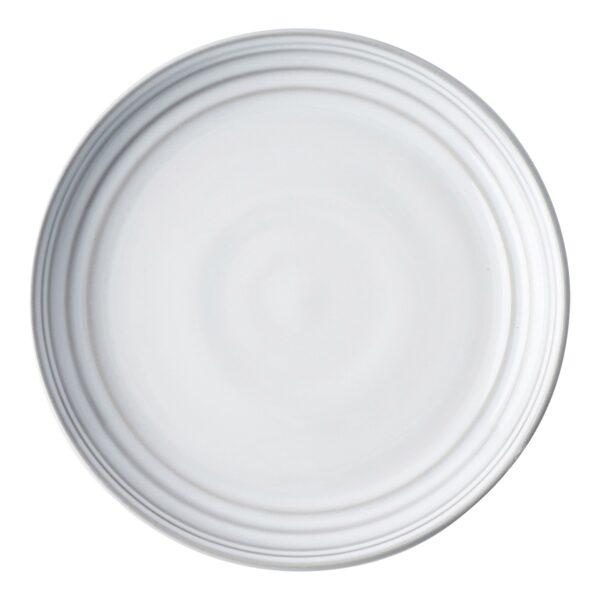 Juliska Bilbao White Truffle Dessert/ Salad Plate