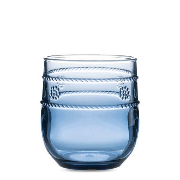 Isabella Acrylic Short Blue Tumbler