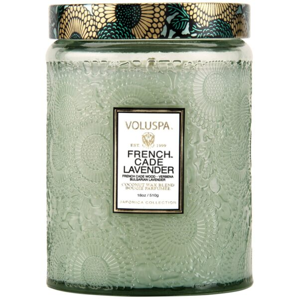 Voluspa French Cade Lavender Large Jar Candle