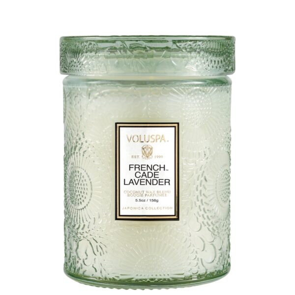 Voluspa French Cade Lavender Small Jar Candle