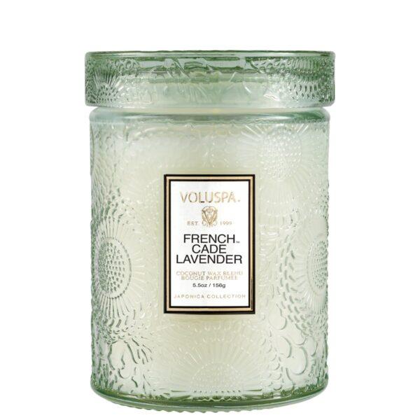 Voluspa French Cade Lavender Small Jar Candle