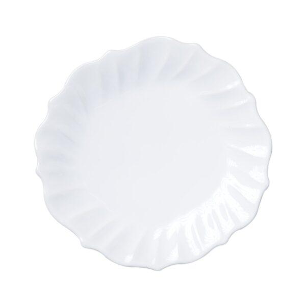 Incanto Stone Ruffle Dinner Plate