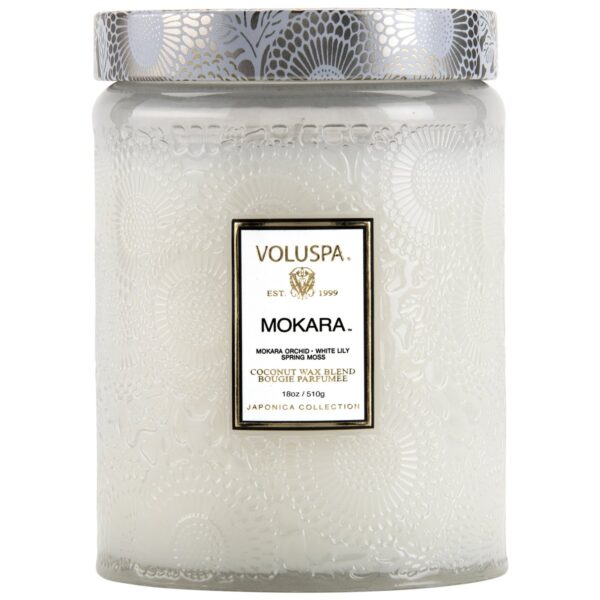 Voluspa Mokara Large Glass Candle
