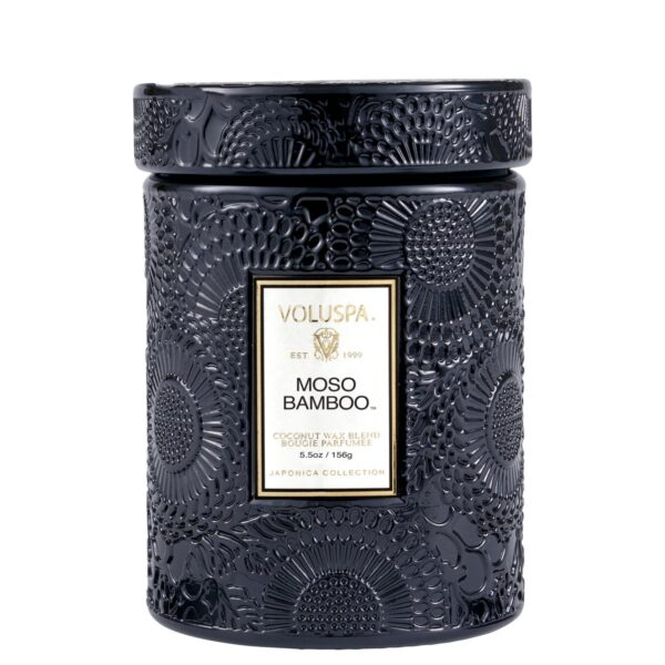 Voluspa Moso Bamboo Small Jar Candle