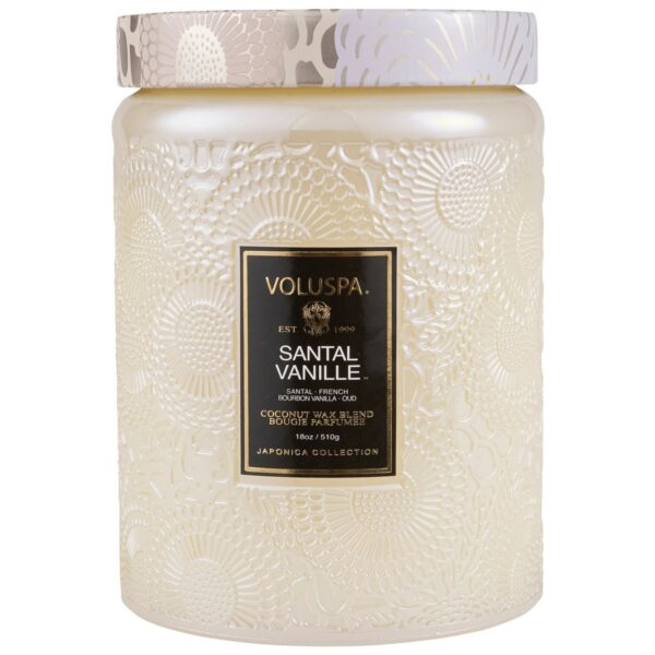 Voluspa Santal Vanille Large Jar Candle