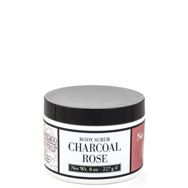 Archipelago Charcoal Rose Body Scrub