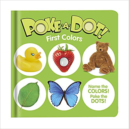 First Colors Poke-a-Dot Book