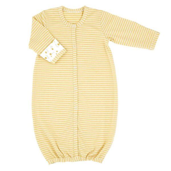 Gold Star Stripe Gown