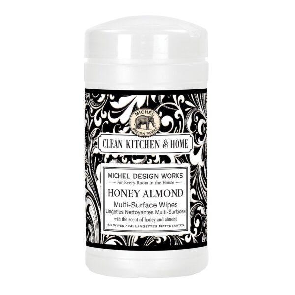 Honey Almond Multi Surface Wipes
