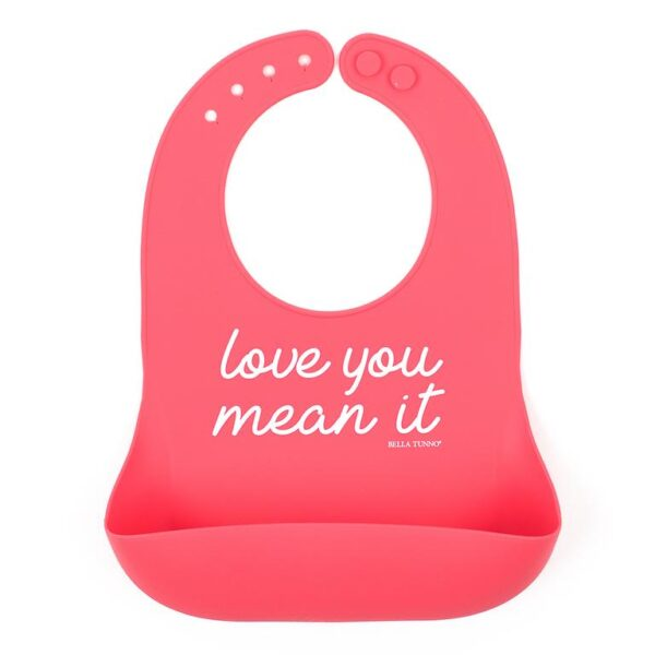 Love You Mean It Wonder Bib