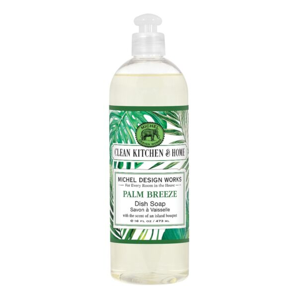 Palm Breeze Dish Soap