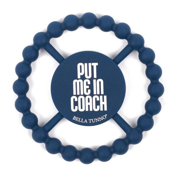 Bella Tunno Teether- Put Me In Coach
