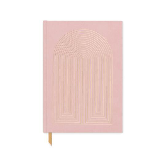 Pink Radiant Rainbow Book Bound