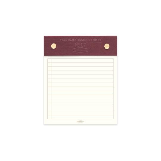 Burgundy Standard Notebook