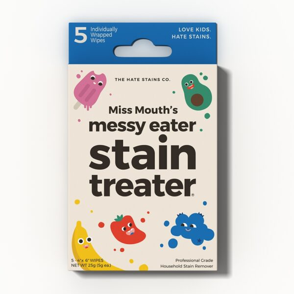 Messy Eater Stain Wipe Set