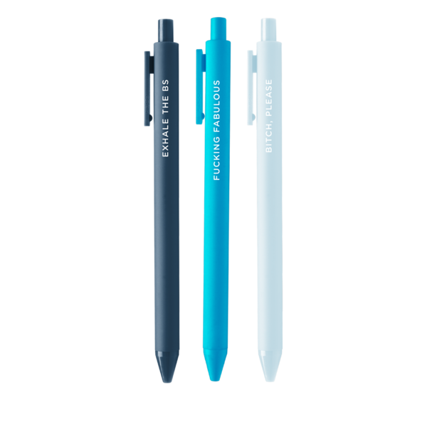 Just Breathe Jotter Pen Set