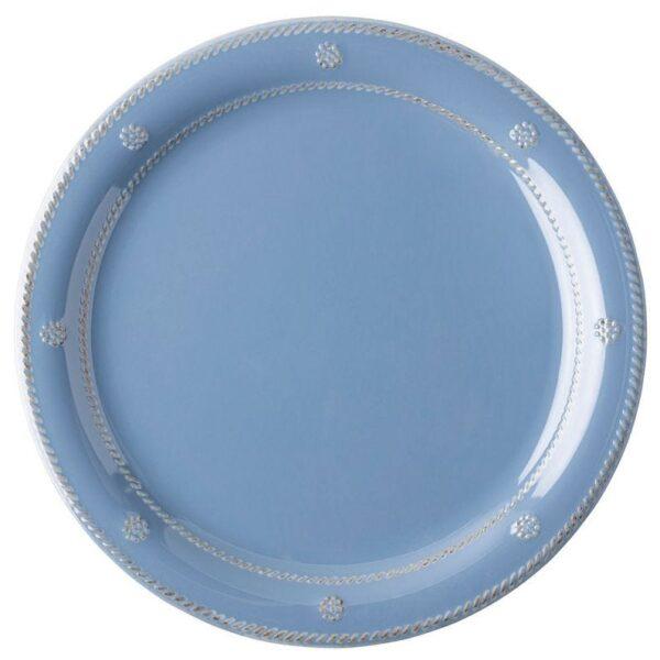 Berry & Thread Melamine Dinner Plate- Chambray
