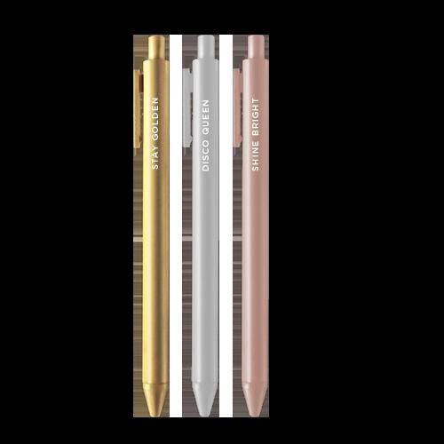 Stay Golden Jotter Pens