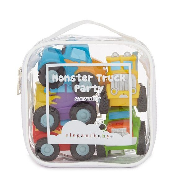 Elegant Baby Monster Truck Party Squirties